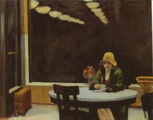 AUTOMAT (Edward Hopper)