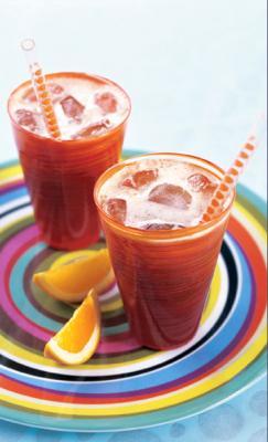 Café al zumo de naranja