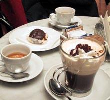 El café de cafetería
