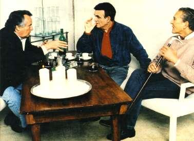 Tres escritores