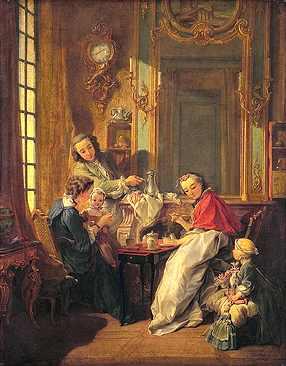 Le dejeuner (1739)